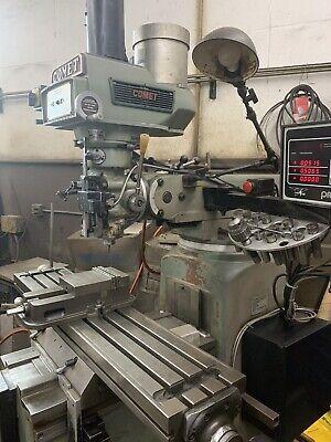 Comet Vertical Mill Milling Machine Swi Proto Trak Plus 2 Axis Cnc Control