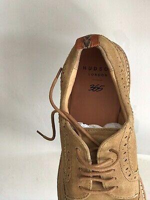 hudson london 365 Mens Suede Shoes Size42