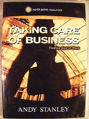 Taking Care Of Business Finding God At Work  Dvd  2005  Andy Stanley Christian