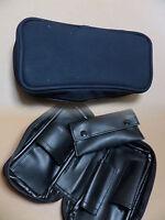 Bolsa De Pipa - Aspecto De Cuero Negro - Con Bolsa Para Tabaco - Nuevo - 632041 -  - ebay.es