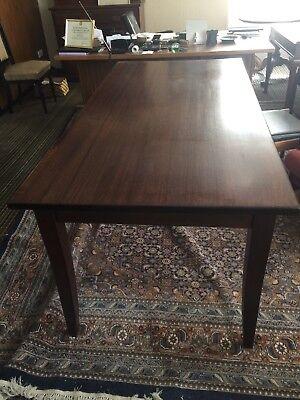 Long Wenge really dark Wood Table 6feet x 34''