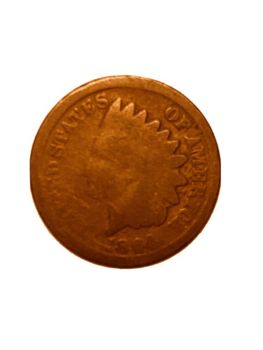 1864 Indian Head Cent Penny, Scarce Date, FREE SHIPPING 2936 - $3.99
