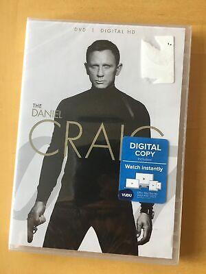 James Bond Daniel Craig Collection 007 DVD 4-Film Casino Spectre Quantum Skyfall
