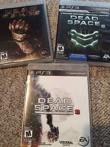 Ps3 Dead Space 1-3 for sale