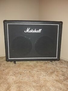 Marshall 2x12 Cabinet Celestion seventy80 speakers