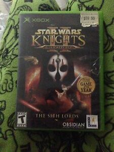 Star Wars knights old republic 2 xbox kotor