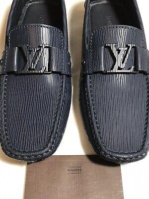 LOUIS VUITTON Men's New $690 Epi Leather Monte Carlo Shoes 9