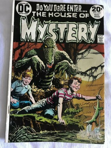 House of Mystery 219 (DC, 1973) Fine