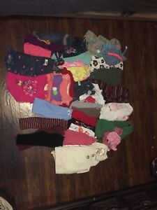 12/18 girls month clothing lot