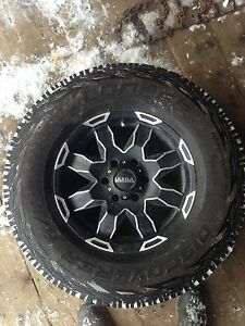"33"" tires and 17"" rims package"