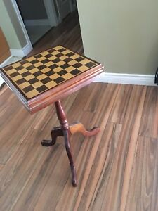 Chess and checkers table set!