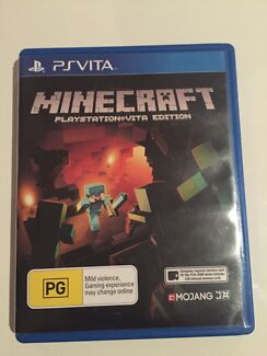 PSVita Minecraft game - As new! Wavell Heights Brisbane North East Preview