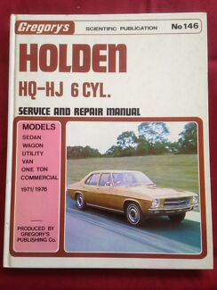 Hq holden service manual gumtree australia free local classifieds gregorys no1461974 holden hq hj 6 sciox Gallery