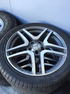 Mercedes wheels and tyres 18inch Clontarf Redcliffe Area Preview
