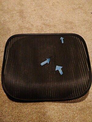 Herman Miller Aeron Chair Seat Mesh Black Pellicle Blemish Size C Large 107