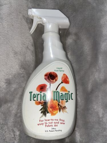 Terial Magic 24 Oz Spray Bottle Quilting Crafting Embroidery Liquid Fuse Spray - $24.00