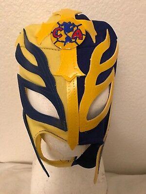 Rey Mask (Club America Jimenez Aguilar  REY MYSTERIO KIDS MASK PENTAGON JR AGUILAS)