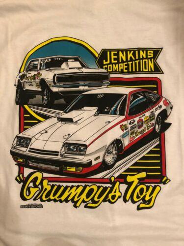 "BILL""GRUMPY""JENKINS COMPETITION  WHITE  2XLARGE TEE SHIRT"