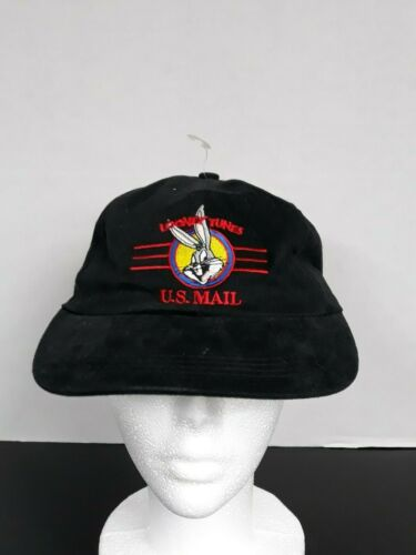 Vintage Bugs Bunny U.S. Mail Stamp Collection Cap