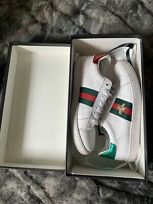 Womans Gucci Ace Trainers Size 37/ Uk 4