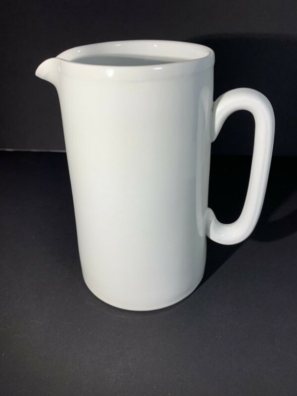 Lord Nelson Pottery White Pitcher
