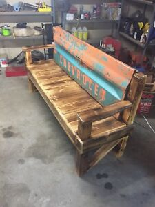 Custom hand made bench