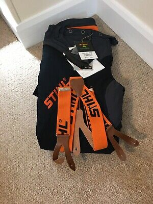 Stihl Hiflex Forestwear Class 1 Chainsaw Protection Trousers XXL with Braces