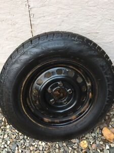 Almost 100% tread ! 185 75 14 package deal