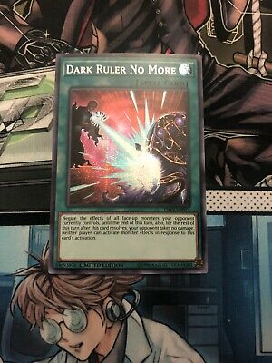 Yugioh Dark Ruler No More TN19-EN014 Secret Rare