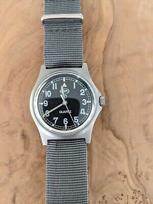 CWC G10 Military watch - 0552 - Royal Navy issued 1990 - In Great Condition