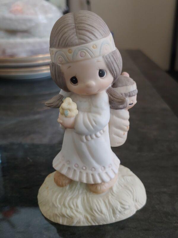 "precious moments ""His Burden Is Light"""