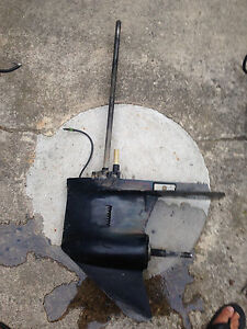Lower unit gearcase rh 25 mercury mariner 150 hp v6 135 for Used 200 hp mercury outboard motors for sale