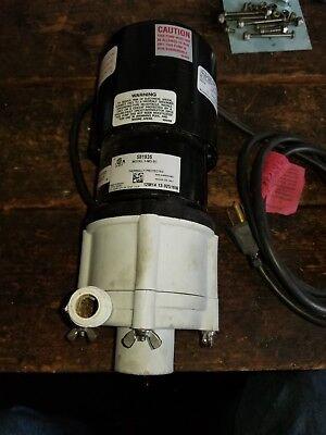 112 Hp Polypropylene Magnetic Drive Pump 115v 34 Fpt Little Giant 3-md-sc