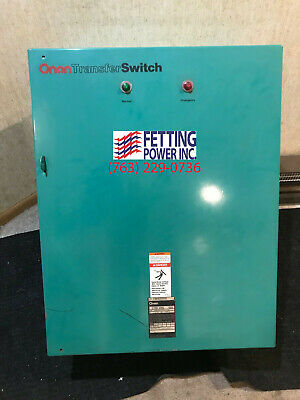 New 100 Amp Onan Automatic Transfer Switch Ltcu 100l Sn F9000325581