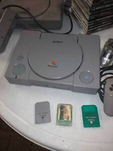 PS 1, steering wheel, multi player, 5 controllers, 15+ games Atwell Cockburn Area Preview