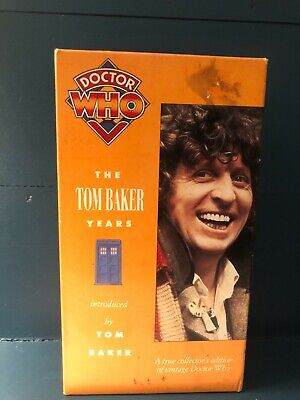 DOCTOR WHO - The Tom Baker Years VHS Boxset - 1993