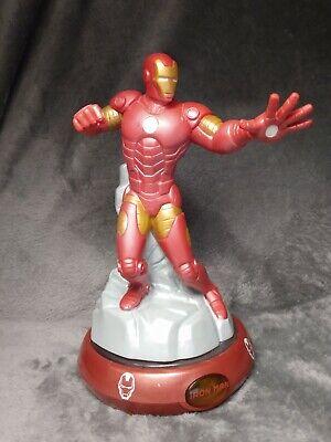 Iron Man Action Figure Night Light Marvel Avengers Bedroom Table Lamp.