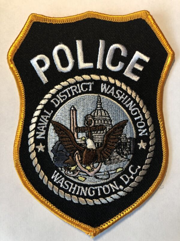 Naval District Washington DC Police Patch ~ New Condition