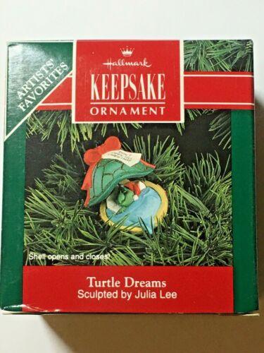 Hallmark Keepsake Ornament Turtle Dreams by Julia Lee dated 1992