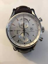 Tag Heuer Carrera Chronograph Automatic 1887 Brown Leather Watch Horningsea Park Liverpool Area Preview