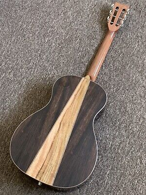 Electro Acoustic Parlour Guitar Amara/Spalted Mango back RRP is £488 inc Gigbag