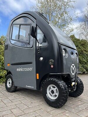 Mini Crosser Cabin Car HEAVY DUTY 8mph Mobility Scooter ONLY 10 MILES ON CLOCK