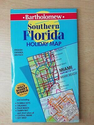 Southern Florida Holiday Map - Bartholomew