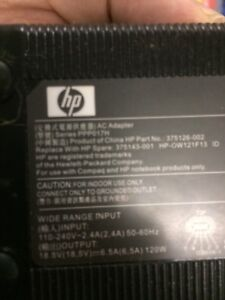 HP ac adapter series PPP017H