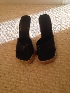 Ladies wedge shoes size 8