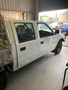 2001 Holden Rodeo Lx 5 Sp Manual Crew Cab P/up