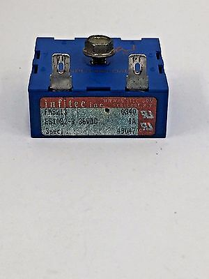 Pre-owned Tennant Part 49047 Timer 36vdc 1a 3s Delay 56805700