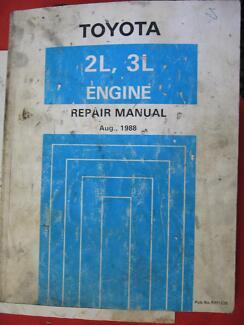 TOYOTA 2L / 3L DIESEL ENGINE WORKSHOP REPAIR MANUAL 1994 Dianella Stirling Area Preview