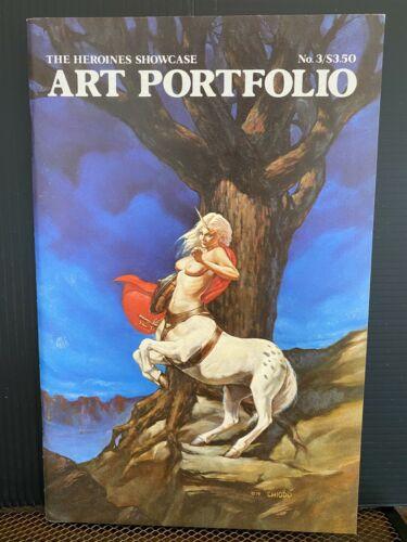 PRIMO:  The HEROINES Showcase Art Portfolio #3 VF-NM 1985 CHIODO Free Shipping