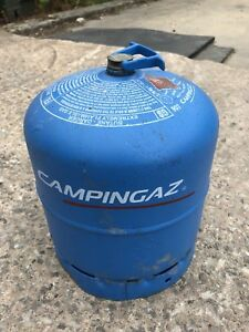 Empty 907 Campingaz bottle butane gas cylinder